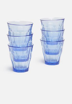 Picardie tumblers - set of 6 250ml