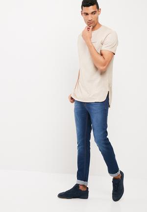 Basicthread Skinny Fit Jeans Blue