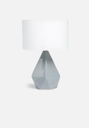 Sixth Floor Facet Lamp Fat Lighting Grey