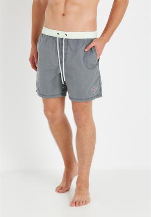 Cotton On Hoff Shorts Swimwear Grey & Mint