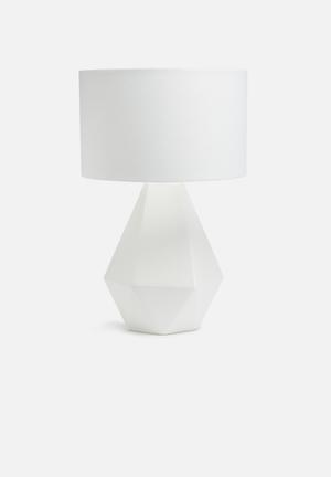 Facet lamp fat