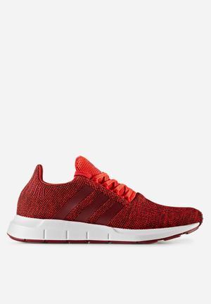 Adidas Originals Swift Run Melange Trainers Red / Collegiate Burgundy / White
