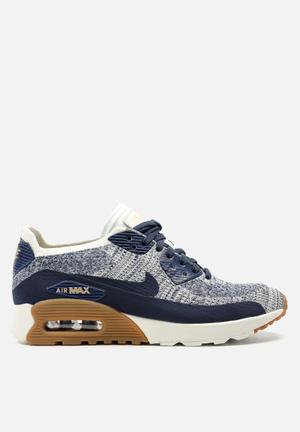 Nike Air Max 90 Flyknit Ultra 2.0 Sneakers College Navy