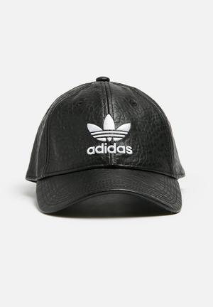 Adidas Originals Adicolor Fashion Baseball Cap Headwear Black