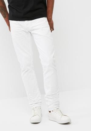 G-Star RAW 3301 Slim Jeans White