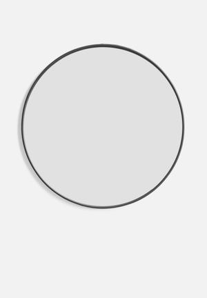 Sixth Floor Iron Round Mirror Accessories Iron Frame