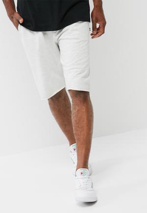 PRODUKT Private Sweat Shorts Light Grey Melange