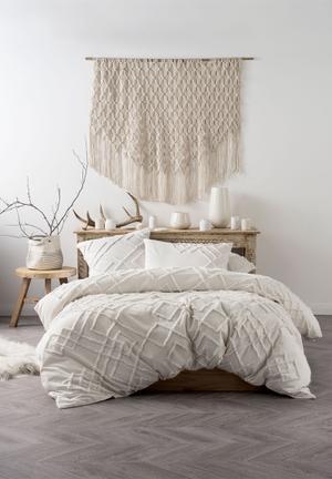 Linen House Sanura Duvet Cover Set Bedding 100% Cotton