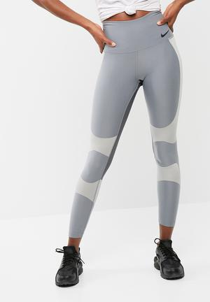 Nike Power Legends Tights Bottoms Grey & Silver