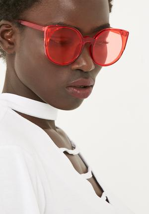 The Lot Living In Colour Eyewear Red