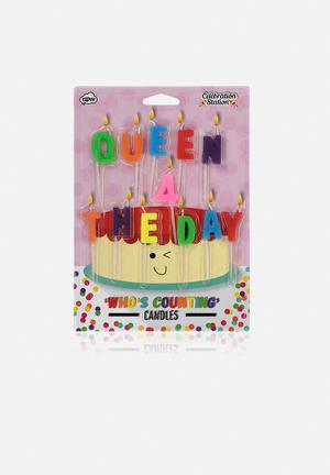 NPW Queen For The Day Candles Gifting & Stationery Wood & Candle Wax
