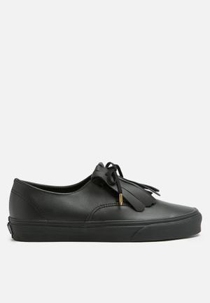 Vans Authentic Sneakers Black & Gold