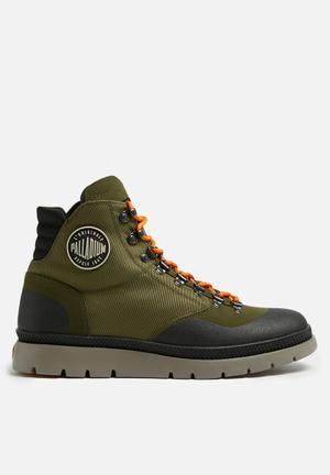 Palladium Pallasider Hiker Mid Boots Khaki
