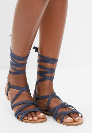 Call It Spring Afauma Sandals & Flip Flops Navy
