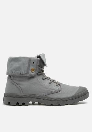 Palladium Baggy Army Boots Grey