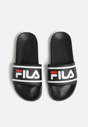 FILA Dino Sandals & Flip Flops Black