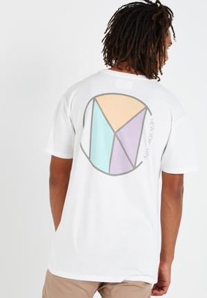 Cotton On NYC Lockup Tee T-Shirts & Vests White