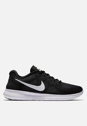 Nike Free Run 2017 Trainers Black / White