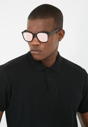 Lundun Mirror Lens Eyewear Black