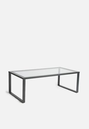 Sixth Floor Tinka Coffee Table Glass And Metal