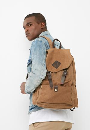 UNSEEN Herbert Backpack Bags & Wallets Brown