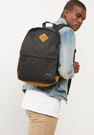 UNSEEN Freedom Backpack Bags & Wallets Black