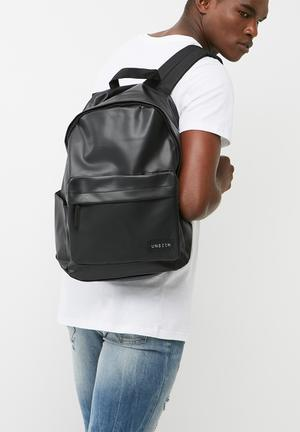 UNSEEN Vent Backpack Bags & Wallets Black