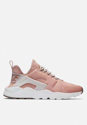 Nike Air Huarache Run Ultra Sneakers Particle Pink/Light Bone - Summit White