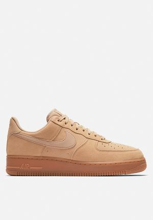 Nike Air Force 1 '07 LV8 Suede Sneakers Mushroom Gum/brown-ivory