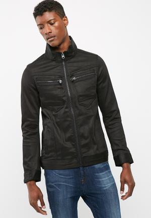 G-Star RAW Arc 3D Zip Jacket Black