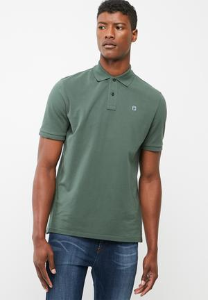 G-Star RAW Dunda Polo T S/s T-Shirts & Vests Green