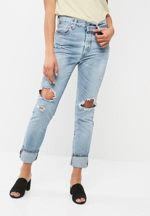 Levi's® 501 Skinny Jeans Blue