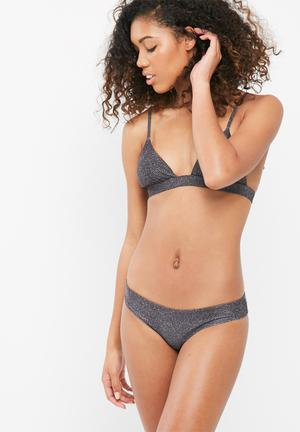 Bikini Love Fully Bikini Brief Swimwear Grey