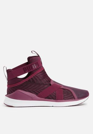 PUMA Fierce Strap Sneakers Dark Purple