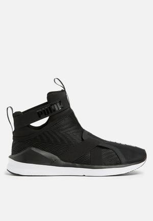 PUMA Fierce Strap Sneakers Black