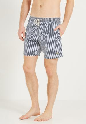 Cotton On Hoff Shorts Swimwear Navy & White