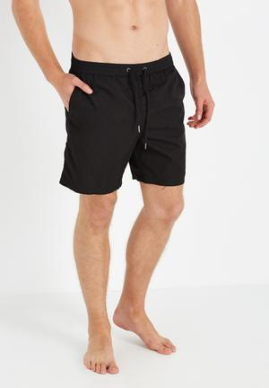 Cotton On Hoff Shorts Swimwear Black