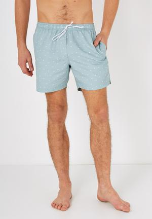 Cotton On Swim Shorts Swimwear Aqua