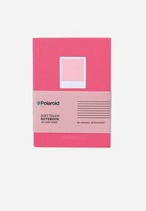 Polaroid Soft Touch Small Notebook Gifting & Stationery
