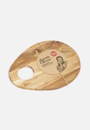 Jamie Oliver Bruschetta Board Dining & Napery Acacia Wood