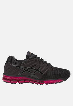 Asics Tiger GEL-Quantum 180 2 Trainers Black / Cosmo Pink