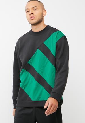 Adidas Originals Block Sweat Black & Green