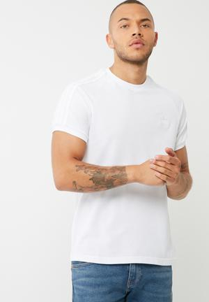 Adidas Originals Clfn Pique Tee T-Shirts White