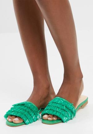 Dailyfriday Amber Sandals & Flip Flops Green