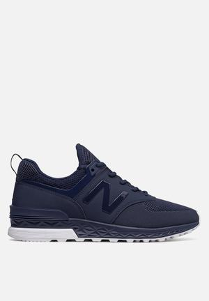 New Balance  574 Sport Sneakers Navy