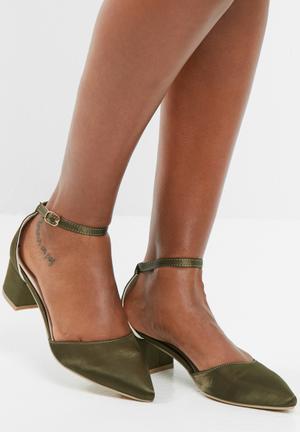 Dailyfriday Aurora Heels Green