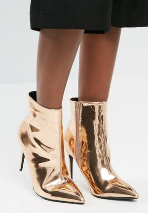 Dailyfriday Stevie Boots Rose Gold