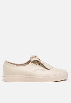 Vans Authentic Fringe Sneakers Whisper Pink & Gold