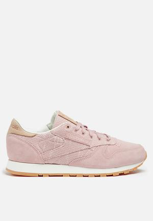Reebok Classic Leather Sneakers Shell Pink