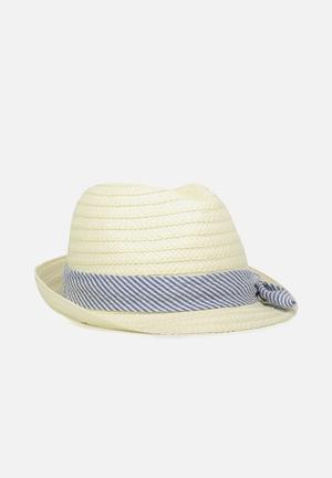 Cotton On Kids Trilby Hat Accessories Blue